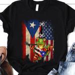 Puerto Rico Frog THV0810011 Classic T Shirt