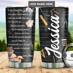 Personalized Mom To Teacher Daughter PYZ0910015 Stainless Steel Tumbler