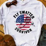 Fly Swatter White KD2 HRM0910006 Classic T Shirt