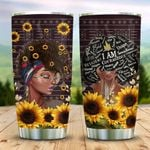 Afro Woman Sunflower KD2 MAL0910013 Stainless Steel Tumbler