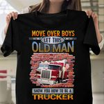 Old Man Trucker HLZ1210014 Classic T Shirt