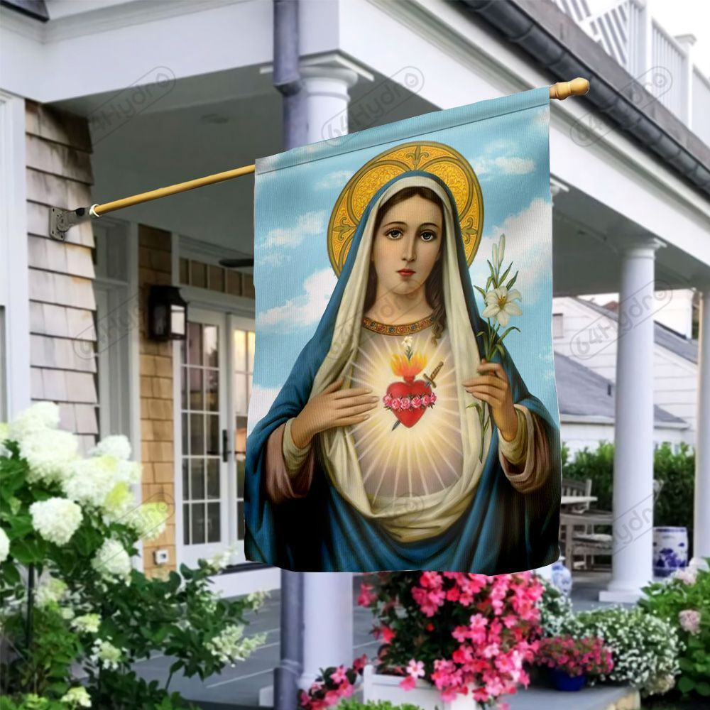 Mother Mary KD4 MDA1210031 Flag