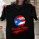 Puerto Rico Baseball HLZ1310014 Classic T Shirt