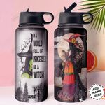 Witch Personalized HHA1310009 Stainless Steel Bottle With Straw Lid