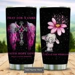 Breast Cancer Elephant Faith Persnalized KD2 DHL1310008 Stainless Steel Tumbler