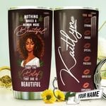 African Women Makeup Personalized THV1410004 Stainless Steel Tumbler