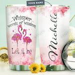 Flamingo Personalized HTR1410027 Stainless Steel Tumbler