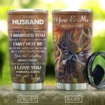 Deer Couple To Husband KD2 HAL1410010 Stainless Steel Tumbler