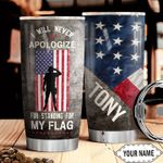Veteran Personalized HHW1510011 Stainless Steel Tumbler