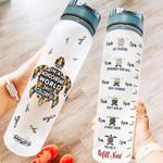 Turtle Autism KD2 HNM1510015 Water Tracker Bottle