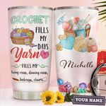 Crochet Personalized HHA1610017 Stainless Steel Tumbler