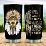 Native Wolf Dreamcatcher KD2 MAL1610012 Stainless Steel Tumbler