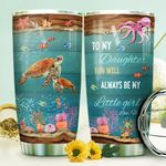 Mom To Daughter Turtle HTR1710036 Stainless Steel Tumbler