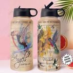 Hummingbird Personalized HTR1710027 Stainless Steel Bottle With Straw Lid