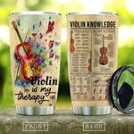 Violin Is My Therapy KD2 HNM1710017 Stainless Steel Tumbler