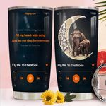 Music Elephent Moon THW2010037 Stainless Steel Tumbler