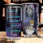 Wolf Letter HTC2010019 Stainless Steel Tumbler