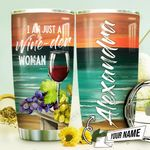 Wine Lover Personalized THV1310003 Stainless Steel Tumbler