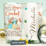 Crochet Personalized HHA1410016 Stainless Steel Tumbler