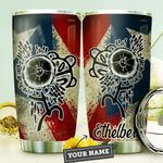 Puerto Rico Personalized DNC1410006 Stainless Steel Tumbler