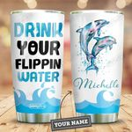 Dolphin Personalized HTR2409008 Stainless Steel Tumbler
