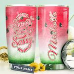 Watermelon Personalized HTQ1710039 Stainless Steel Tumbler
