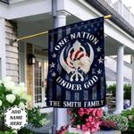Sikhism One Nation Under God Personalized THV0310016 Flag