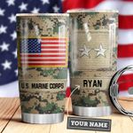 Marine Corps Personalized MDA0610039 Stainless Steel Tumbler