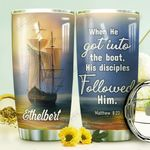 Faith Ship Personalized DNE0610008 Stainless Steel Tumbler