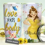 Big Girl Personalized HHE3009012 Stainless Steel Tumbler