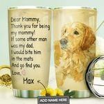 Labrador Retriever Personalized MDA1310027 Stainless Steel Tumbler