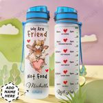 Vegan Personalized HHE0510014 Water Tracker Bottle