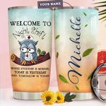 Nightshift Owl Nurse Personalized HTR1610015 Stainless Steel Tumbler