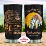 Native Dreamcatcher Personalized KD2 MAL1510009 Stainless Steel Tumbler