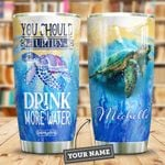 Turtle Personalized HTR2409013 Stainless Steel Tumbler