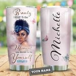 Black Women Personalized HHE2409001 Stainless Steel Tumbler