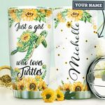 Turtle Personalized HTR1310013 Stainless Steel Tumbler