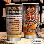 Firefighter Facts KD4 Personalized HHA1510007 Stainless Steel Tumbler