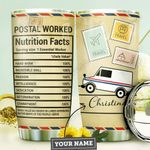 Postal Worker KD4 Personalized MDA0910026 Stainless Steel Tumbler