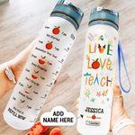 Kindergarten Teacher Personalized PYY2108024 Water Tracker Bottle