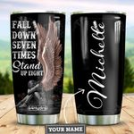 Angel Wing Personalized HHE2209006 Stainless Steel Tumbler