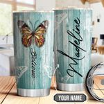 Butterfly Believe Personalized THA1710023 Stainless Steel Tumbler