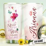Wild Flower Personalized THV0710014 Stainless Steel Tumbler