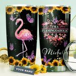 Flamingo Personalized HTR1410028 Stainless Steel Tumbler
