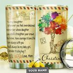 Mom Daughter Personalized MDA0710039 Stainless Steel Tumbler