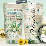 Butterfly Personalized HTR1410025 Stainless Steel Tumbler