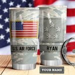 Air Force Personalized MDA0510005 Stainless Steel Tumbler