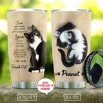 Tuxedo Cat Love Personalized KD2 MAL0310027 Stainless Steel Tumbler