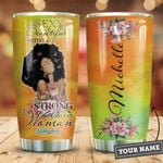 Black Women Personalized HHE1709002 Stainless Steel Insulated Tumbler
