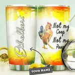 Chicken Personalized DNE0910013 Stainless Steel Tumbler